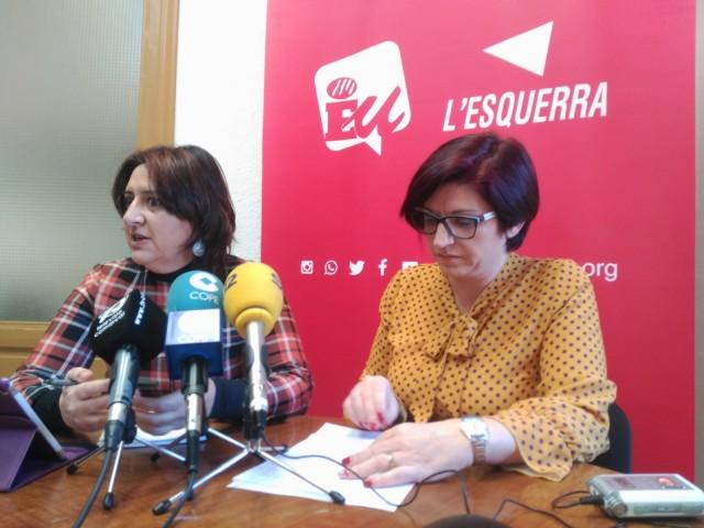 Rosa Pérez Garijo i Estefania Blanes