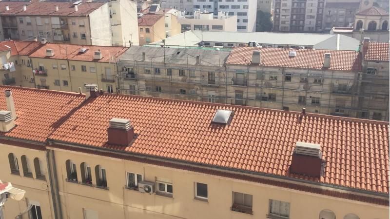 Les obres de rehabilitació al grup de vivendes Sant Jordi