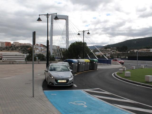 El pont de Fernando Reig es torna més accessible per als vianants