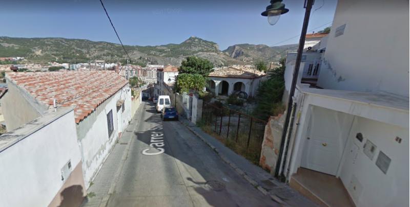 Carrer Sant Pancraç / Google maps