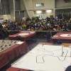 Alumnes de tota la comunitat mostren el que saben fer amb robots al campus d'Alcoi de la UPV