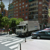 Plaça Jaume el Conqueridor, lloc on l'Ajuntament es planteja reubicar els contenidors.
