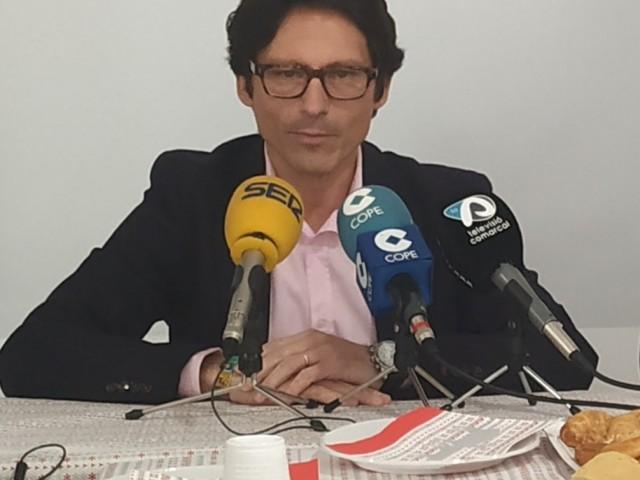 L'alcaldable del PP a Alcoi, Quique Ruiz.