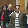 Aitor Pla amb algunes de les Dones Valentes: Marcela Ripoll, Xeca Lloria, Macrina Soler i María Such