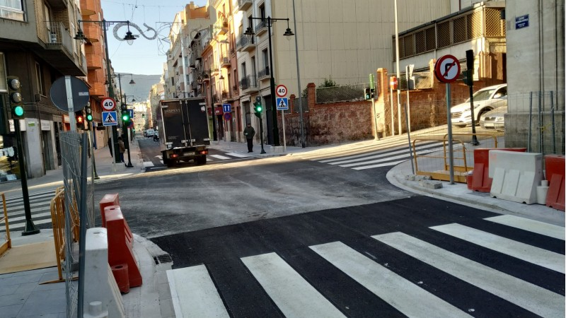 Cruïlla dels carrers Entença i Góngora