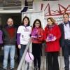 L'IES Pare Vitòria d'Alcoi celebra l'Esmorzar Violeta, activitat dins de la setmana feminista