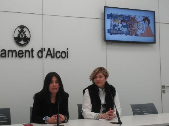 Zamorano i Puchades presenten la primera activitat de la Fira Modernista 2019.
