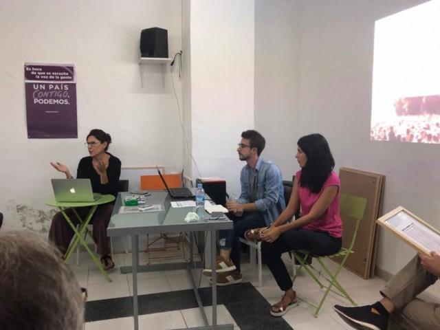 El Comité electoral de Podemos invalida la candidatura deCarminaReig