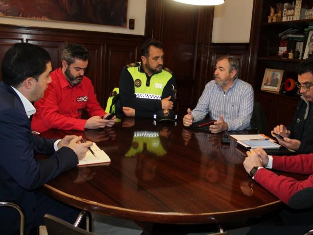 Reunió a l'Ajuntament d'Alcoi per a activar el protocol davant l'onada de fred.