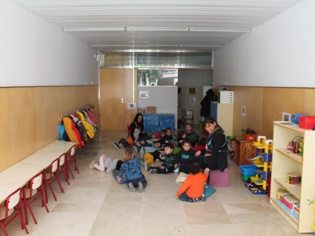 El Romeral ja té nova aula per als alumnes de 2 anys