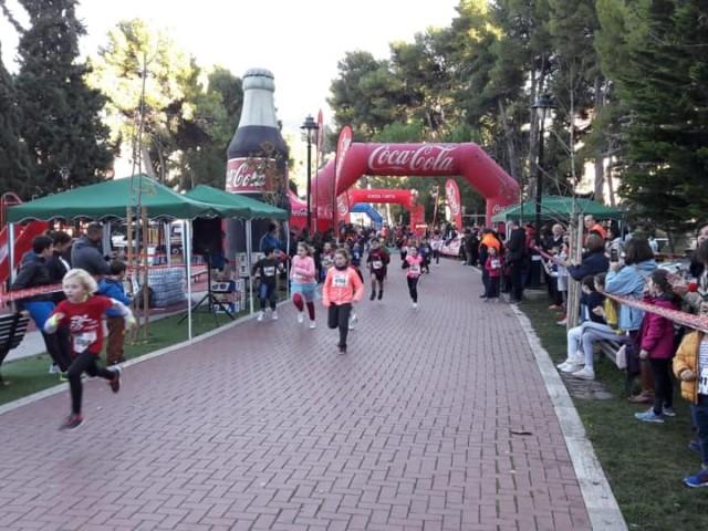 Sant Silvestre infantil, al parc de Cervantes.