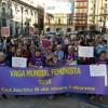 Vaga feminista de 2018 en Alcoi