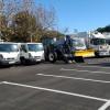 Els nous vehicles que entren a formar part de la flota de neteja a Alcoi
