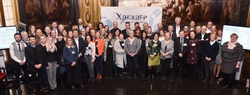 Representants de les 33 diferents ciutats que integren la XarxaFP