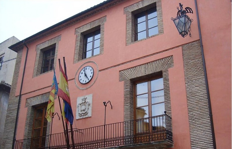 Façana de l'Ajuntament de Cocentaina.