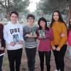 Pau Cortés, Adrián Pascual, Àlex Garrido, Yue Casanova, Junaida Bousbiba i Maria Moltó, alumnes de 4t d'ESO A de l'IES Pare Arques (Cocentaina)