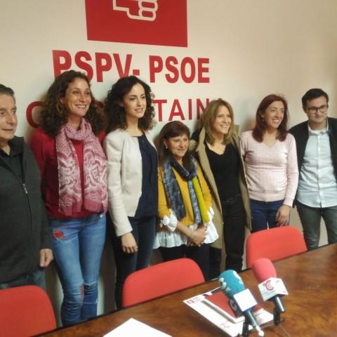 L'assablea general del PSPV a Cocentaina s'ha reunit aquest 3 de març.