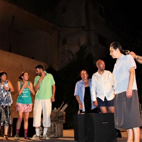 Assaig de la Companyia Teló Teatre