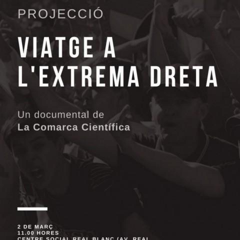 """'La comarca científica' presenta a Cocentaina el seu documental """"Viatge a l'extrema dreta"""""""