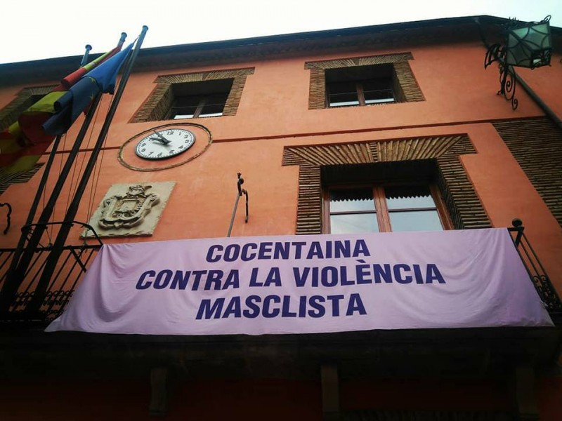 Façana de l'Ajuntament de Cocentaina