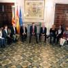 Una fotografia de l'encontre que va mantenir Ximo Puig amb familiars i afectades d'Ardystil al mes de maig./ Generalitat Valenciana