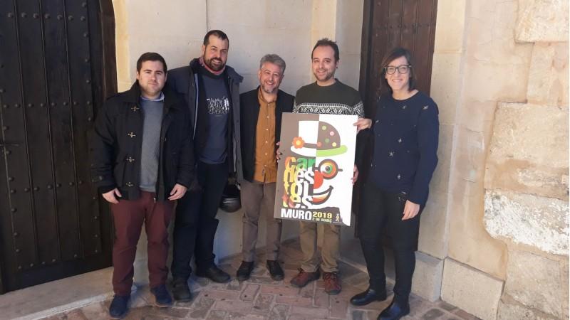 Jurat que ha escollit el cartell del Carnestoltes de Muro de 2019 // Via Ajuntament de Muro d'Alcoi.
