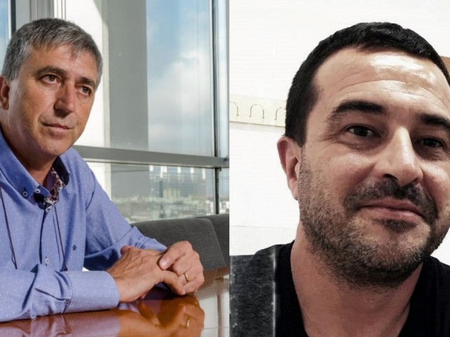Rafa Climent i Jordi Davó.