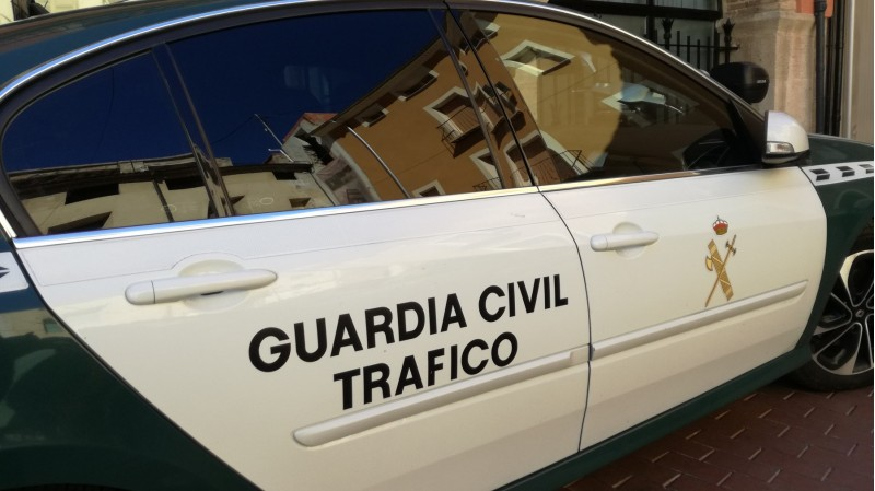 La Guàrdia Civil ha atés l'accident