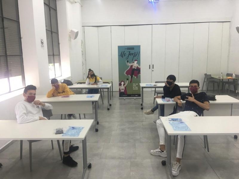 Alguns dels participants / Ajuntament d'Alcoi