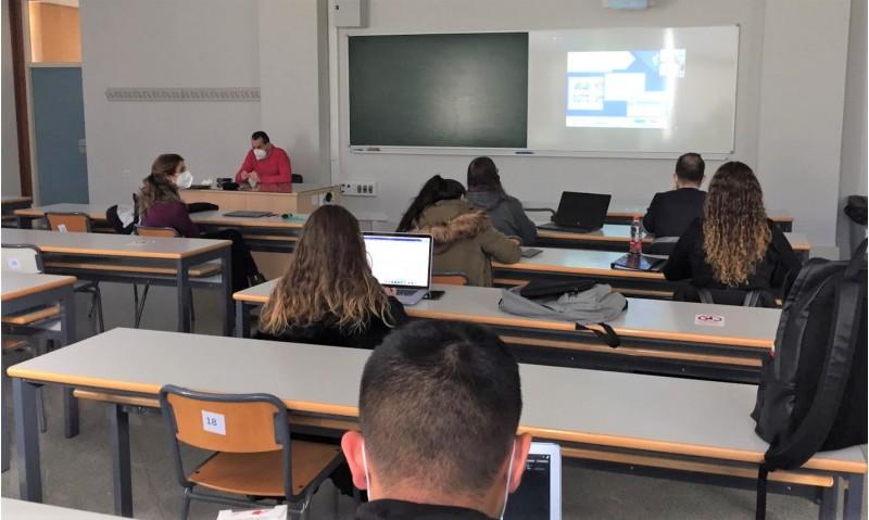 Alumnes en la I Jornada de Turisme d'Interior / Foto: Campus d'Alcoi UPV