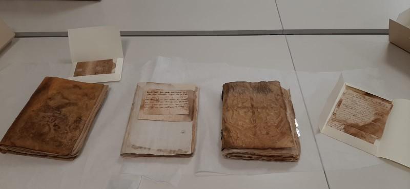 Llibres de Cort de Justícia restaurats / Foto: Ajuntament Cocentaina