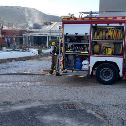 Incendi al restaurant LaMontañade Cocentaina