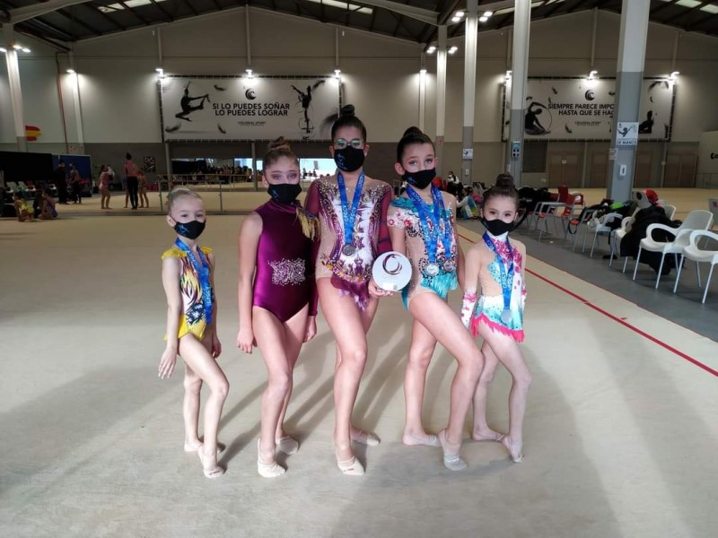 Gimnastes del CGR Sant Jordi