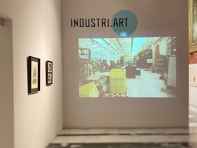 Part de l'exposició INDUSTRI.ART / Foto: La Capella