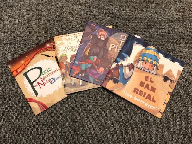 Tots els llibres editats fins 2020, amb 'Les burretes' incloses / Ajuntament d'Alcoi