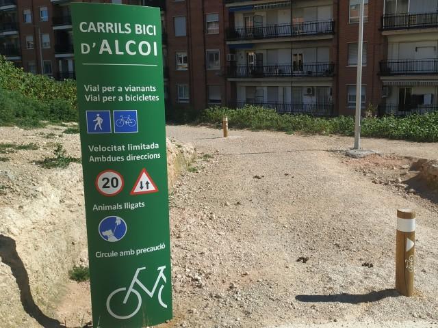 Carril bici, una de les propsotes més visibles dels pptos participatius / AM