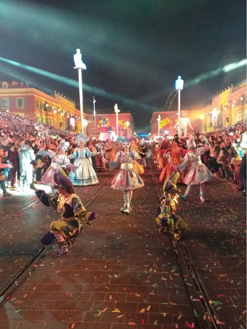 Coreografia 'Reines', al carnestoltes de Niça.