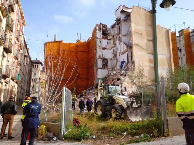 Troben morta la dona que habitava a l'edifici caigut a Alcoi