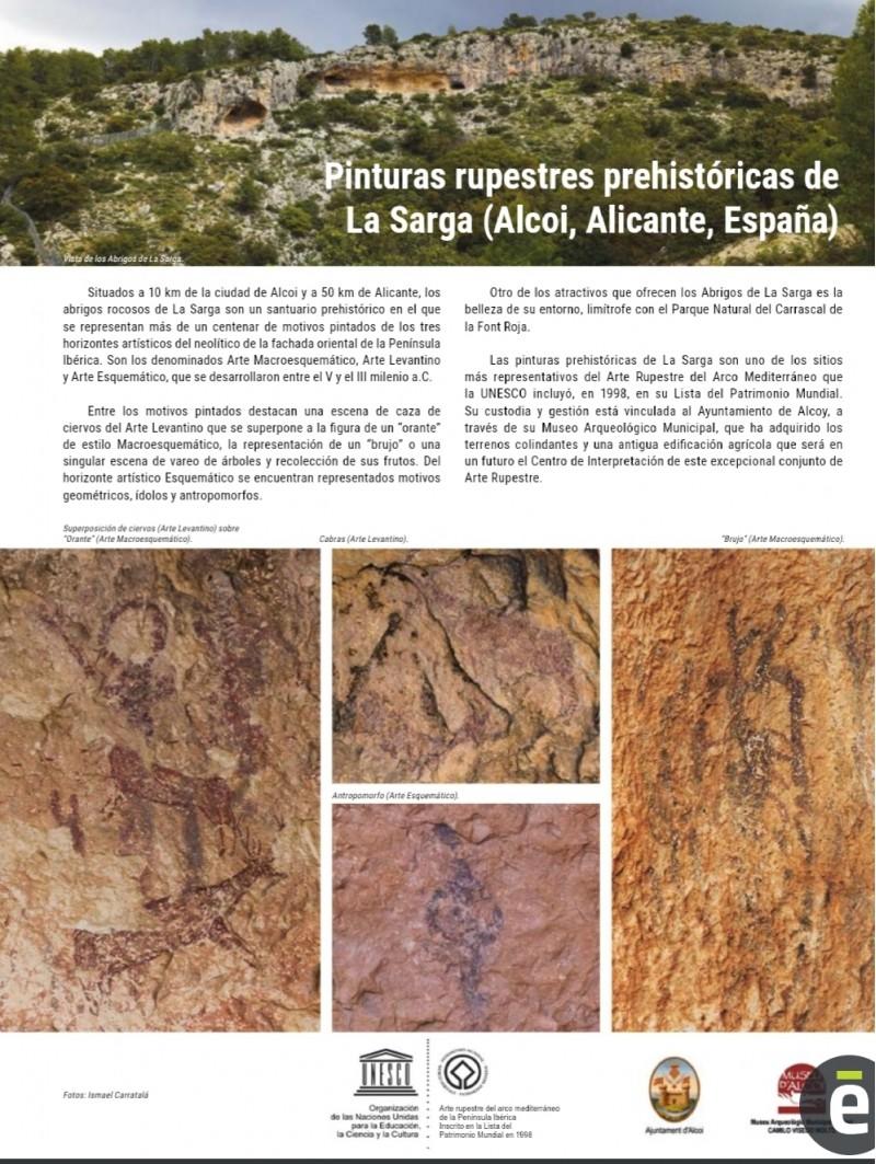 Pàgina dedicada a la revista de la Unesco.