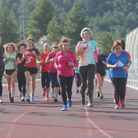 La Trobada 10KFem de Running Femení celebrada a Alcoi té un gran èxit