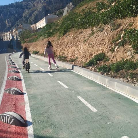 Ja tenim carril bici i esperem un centre per a vianants. Balanç d'execució dels pressupostos participatius