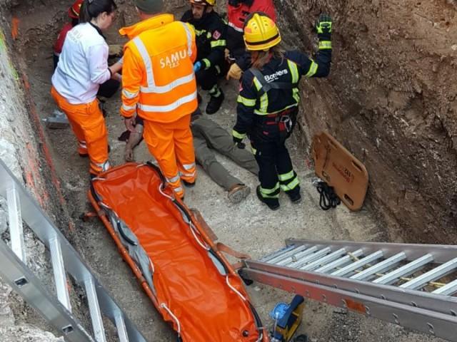 Accident laboral a Alcoi