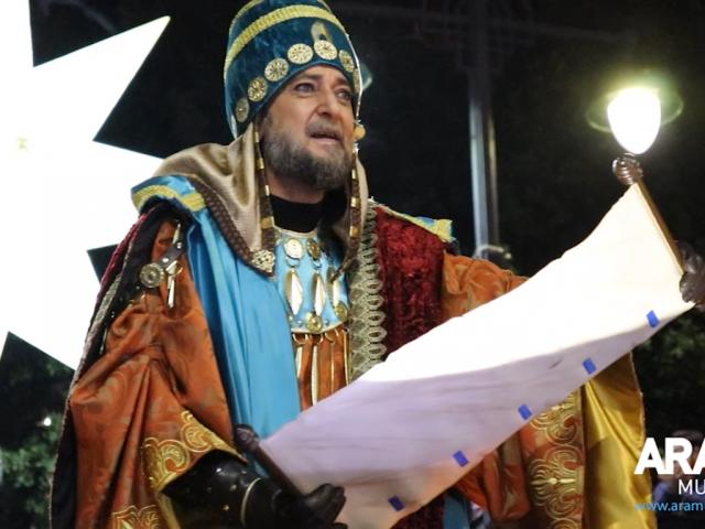 L'Ambaixador Reial llegint el Ban.