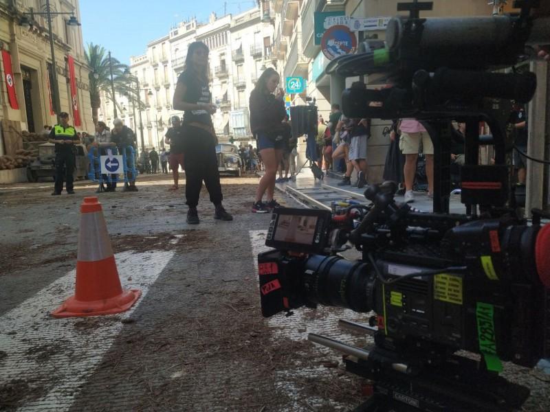 Imatge d'arxiu, rodatge a Alcoi en setembre del 2019.