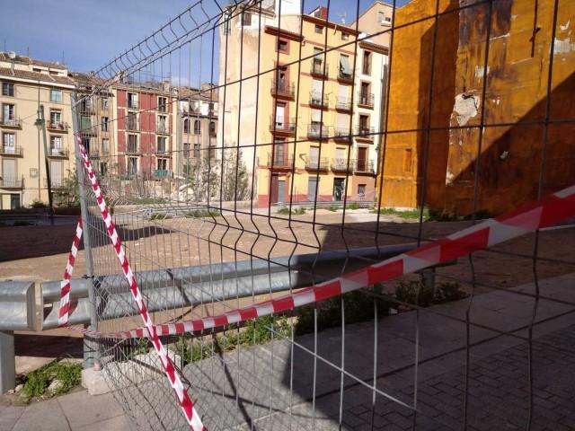 Accés tallat als carrers Sant Gregori i Sant Agustí