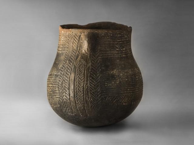 Una de les peces del Museu Arqueològic Camilo Visedo Moltó.
