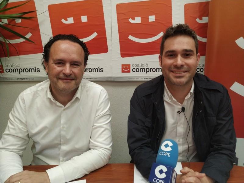 Gerard Fullana i Màrius Ivorra a Alcoi / AM