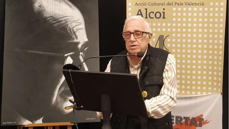 Josep Lluís Peiró al CCOM / Vicent Luna