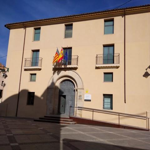 Palau de Justicia d'Alcoi.