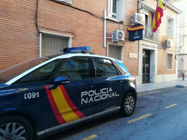 Dependències de la Policia Nacional en Alcoi / Foto d'arxiu